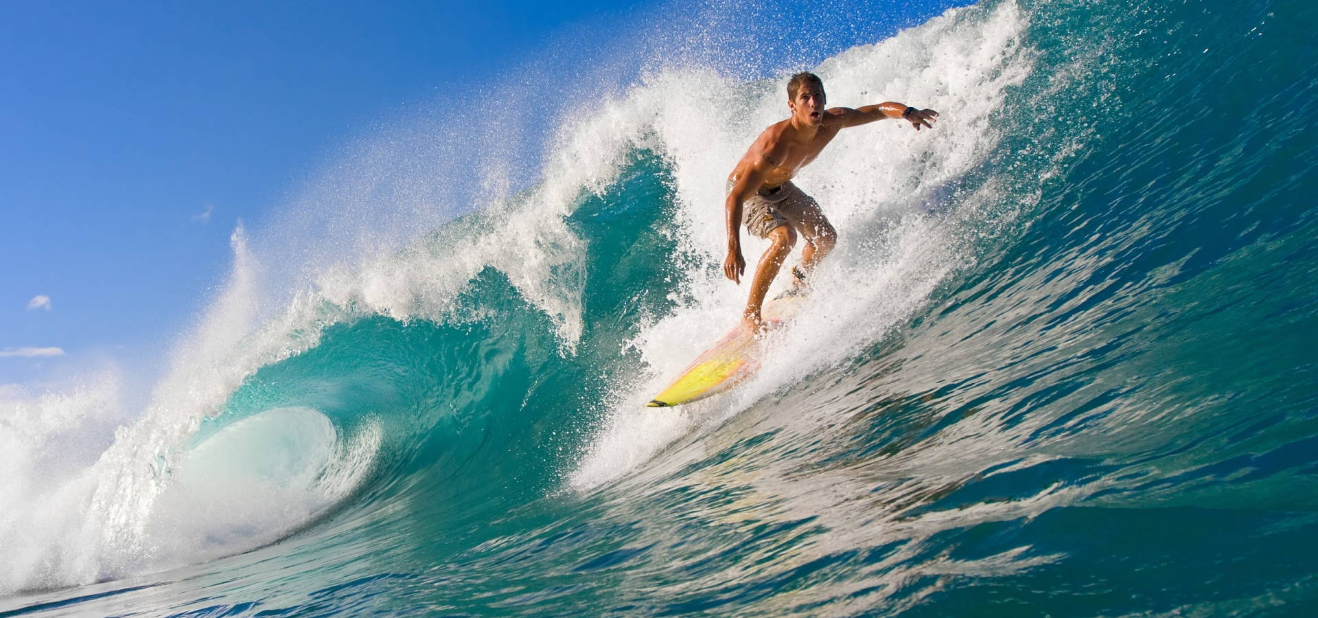 Man Surfing - Custom Homepage Custom